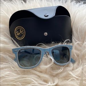 Denim Ray Ban sunglasses